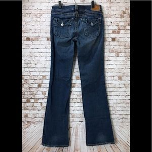 True Religion Jeans Becky Big T Boot Cut Size 30